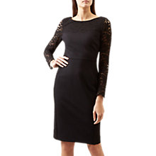 Buy Hobbs Roxie Dress, Black Online at johnlewis.com