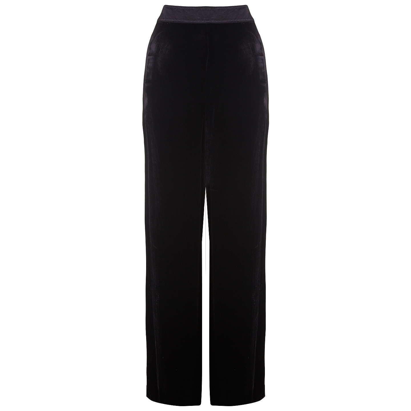BuyGhost Leila Trousers, Black, XXS Online at johnlewis.com
