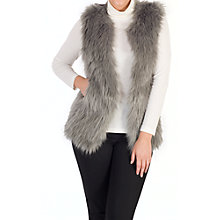 Buy Chesca Faux Fur Gilet Online at johnlewis.com