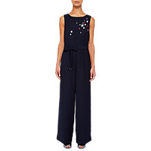 Buy Ted Baker Colour By Numbers Baylie Star Motif Jumpsuit, Navy Online at johnlewis.com