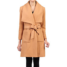 Buy Jolie Moi Wool Blend Wrap Coat Online at johnlewis.com