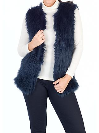 Chesca Faux Fur Gilet