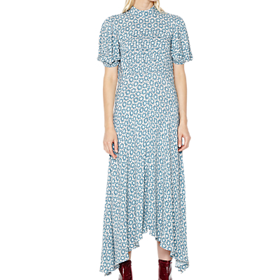 1920s Style Dresses, Flapper Dresses Ghost Jenna Dress Blue Floral £150.00 AT vintagedancer.com