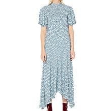 Buy Ghost Jenna Dress, Blue Floral Online at johnlewis.com