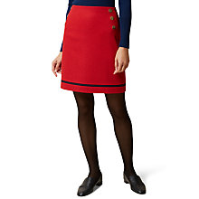 Buy Hobbs Roxanne Skirt, Stirling Red Online at johnlewis.com