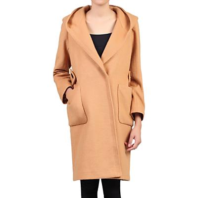 Jolie Moi Hooded Quilted Inner Coat