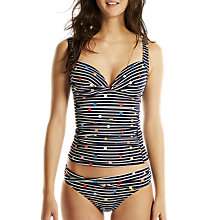 Buy Joules Roma Fun Spot Tankini Top, Navy/Multi Online at johnlewis.com