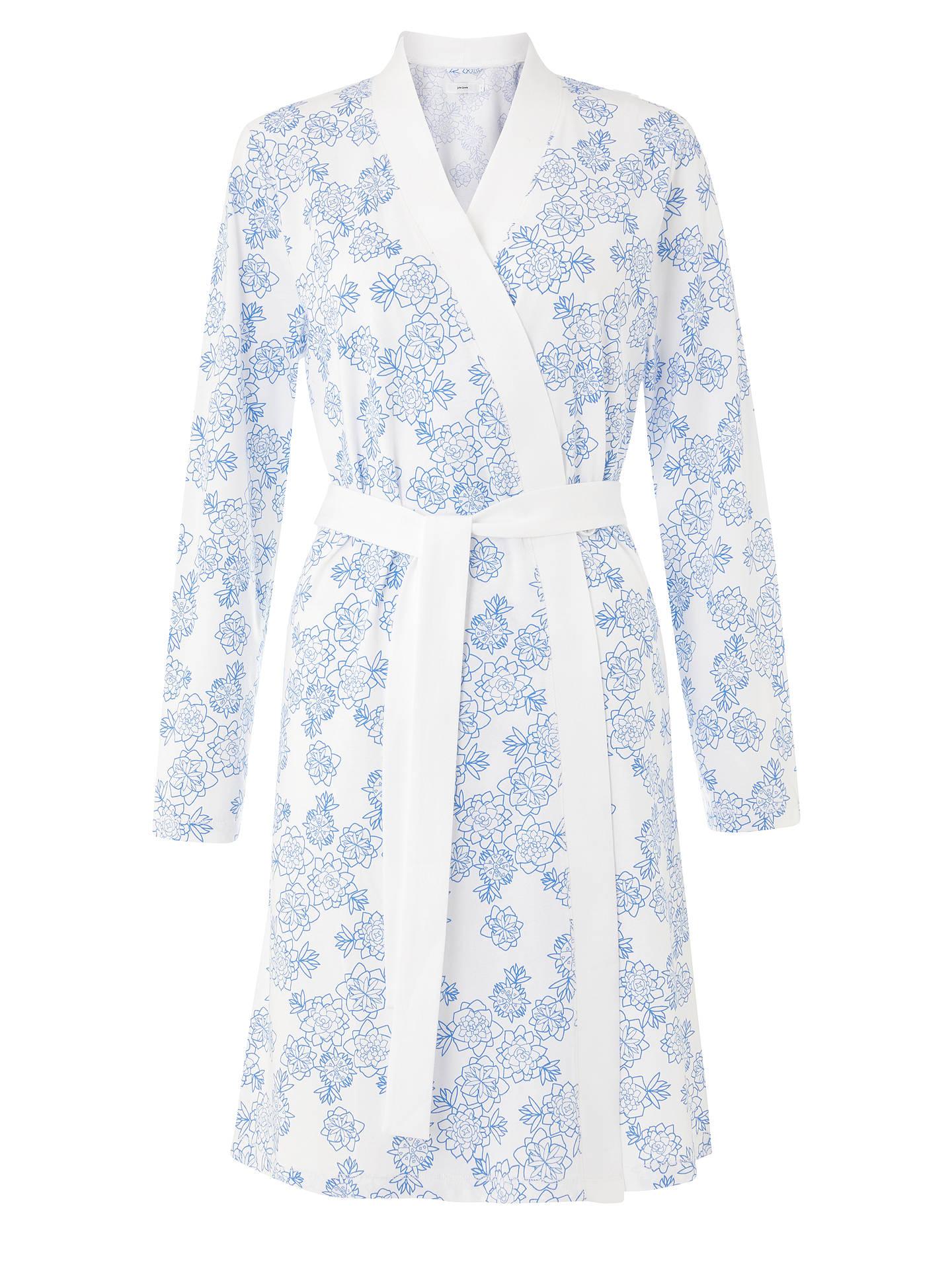 John Lewis Partners Melissa Floral Print Cotton Jersey Dressing