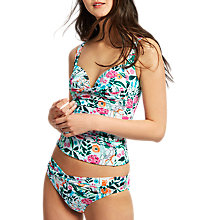 Buy Joules Roma Secret Garden Tankini Top, Multi Online at johnlewis.com