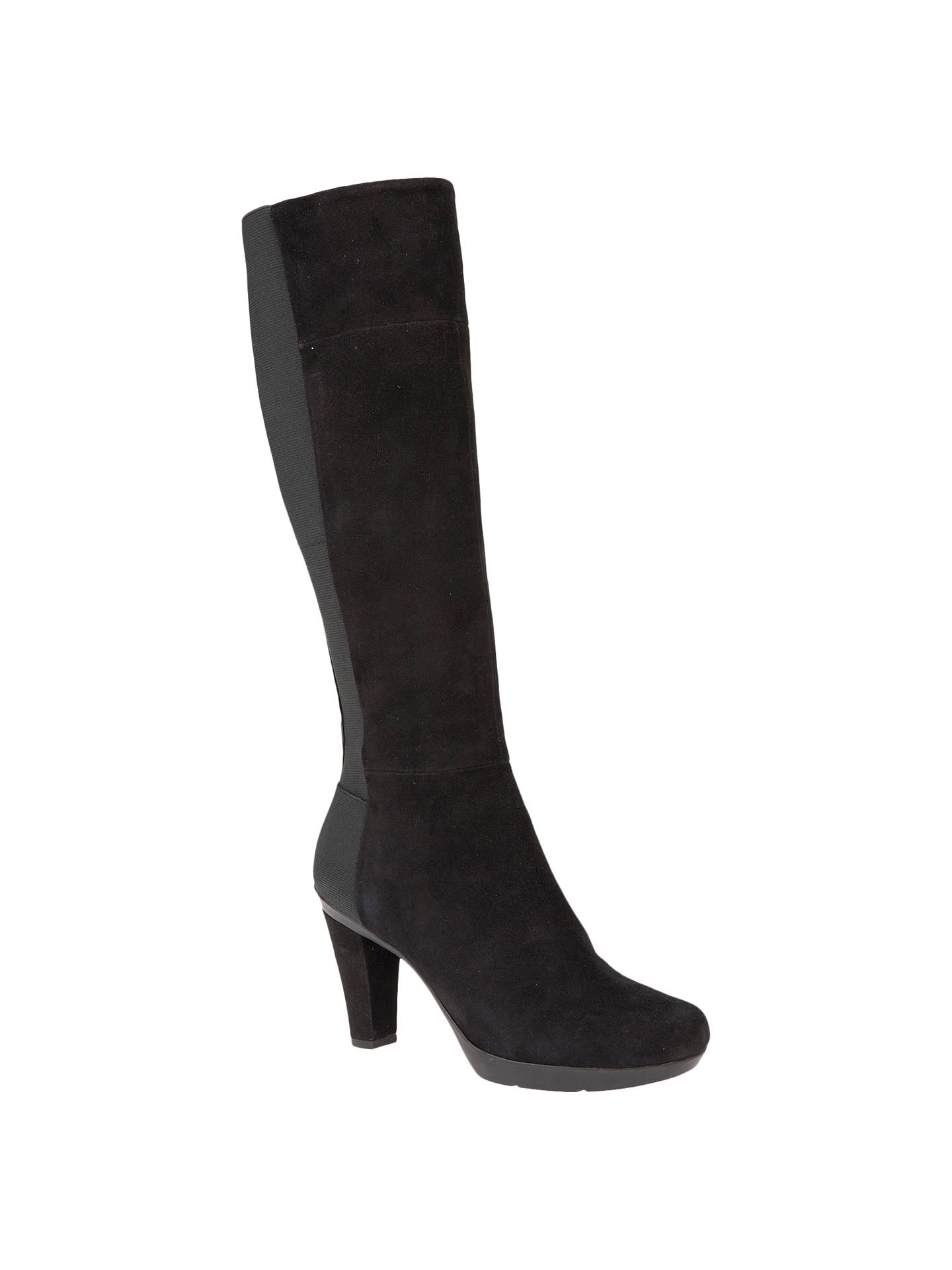 a6667935f4c Buy Geox Inspiration Block Heeled Knee High Boots