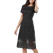 Buy Sugarhill Boutique Dayle Grid Lace Dress, Black Online at johnlewis.com