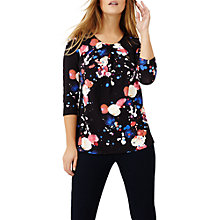 Buy Studio 8 Jackson Print Top, Black/Multi Online at johnlewis.com
