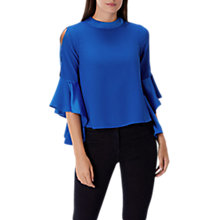 Buy Coast Emmy Mae Top, Cobalt Blue Online at johnlewis.com