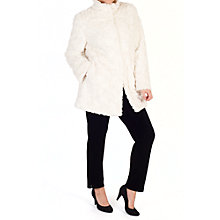 Buy Chesca Faux Fur Swing Coat Online at johnlewis.com