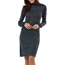 Buy Sugarhill Boutique Sabrina Sparkle Dress, Black/Aqua Online at johnlewis.com