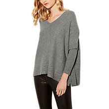 Buy Karen Millen Skinny Sleeve Poncho, Grey Online at johnlewis.com