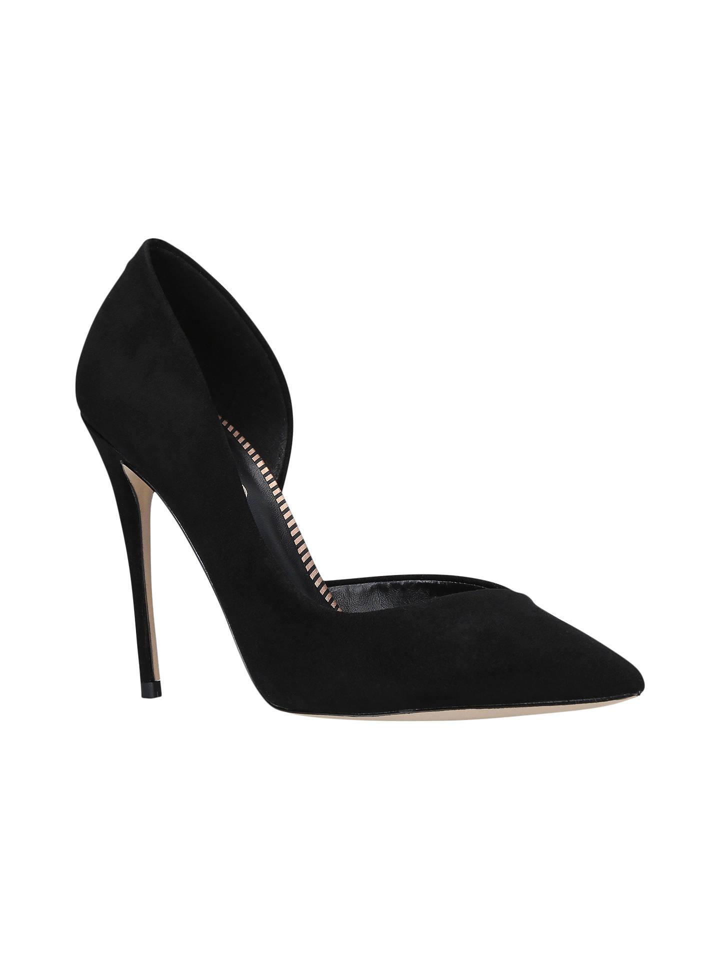 fee9fc5cdb9 Miss KG Alexandra High Heel Pointed Toe Court Shoes, Black at John ...