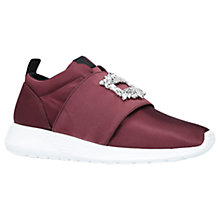 Buy Kurt Geiger Leighton Embellished Trainers Online at johnlewis.com