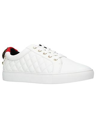 Kurt Geiger London Ludo Lace Up Trainers, White