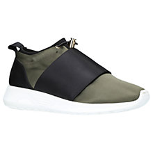 Buy Kurt Geiger Lawrence Toggle Fastening Trainers, Khaki Online at johnlewis.com