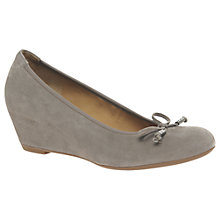 Buy Gabor Alvin Concealed Wedge Heel Court Shoes Online at johnlewis.com