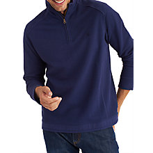 Buy Joules Dalesmen Half Zip Sweatshirt, French Navy Online at johnlewis.com