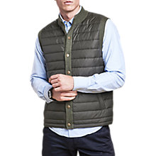 Buy Barbour Essential Gilet, Olive Online at johnlewis.com