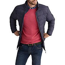 Buy Joules Go To Padded Jacket, Marine Navy Online at johnlewis.com
