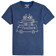 Buy Joules The Coast Is Clear Graphic T-Shirt, Navy Online at johnlewis.com
