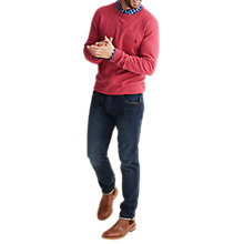 Buy Joules Retford Cotton Wool Crew Jumper Online at johnlewis.com