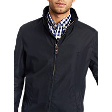 Buy Joules Hillway Long Sleeve Bomber Jacket, Navy Online at johnlewis.com