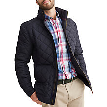 Buy Joules Retreat Quilted Jacket, Marine Navy Online at johnlewis.com