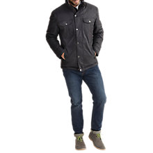 Buy Joules Tracker Waterproof Jacket, Black Online at johnlewis.com