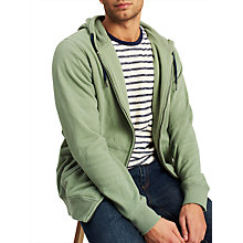 Buy Joules Hemsby Long Sleeve Hoodie, Sage Green Online at johnlewis.com