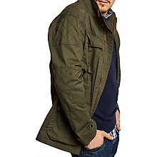 Buy Joules Robson Twill Jacket, Khaki Online at johnlewis.com