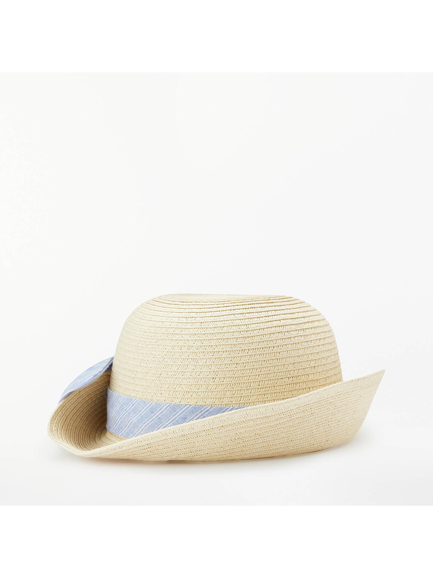 BuyJohn Lewis Baby Straw Hat c4d420c0ac3