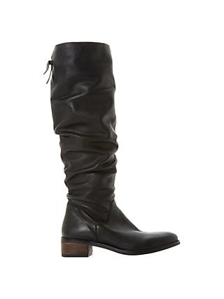 938bdefe871 Dune Tabatha Knee High Slouch Boots