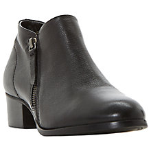 Buy Dune Padington Block Heeled Ankle Boots Online at johnlewis.com
