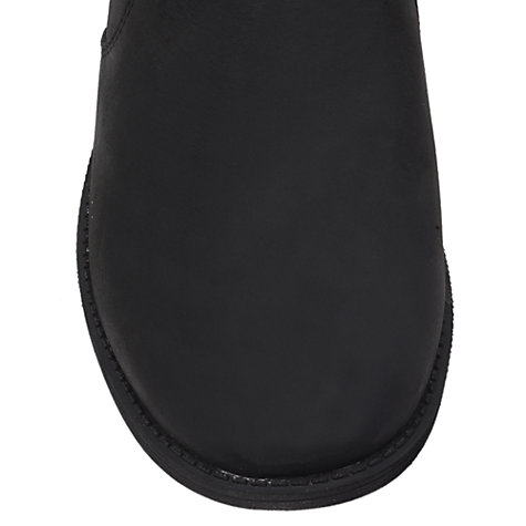 Buy UGG Bonham Leather Low Block Heel Ankle Boots Online at johnlewis.com