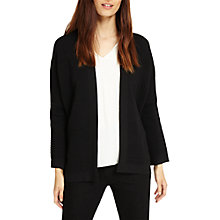 Buy Phase Eight Bobbi Ripple Stitch Knit Jacket, Black Online at johnlewis.com