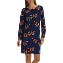 Buy Betty & Co. Floral Print Dress, Classic Blue/Dark Blue Online at johnlewis.com