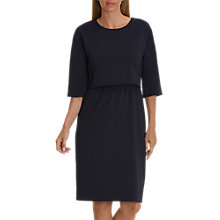 Buy Betty & Co. Crepe Layered Dress, Dark Sapphire Online at johnlewis.com