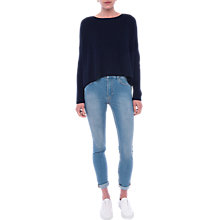 Buy French Connection Twist Back Jumper, Nocturnal Online at johnlewis.com