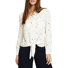 Buy Phase Eight Galaxy Star Print Shirt, Ivory/Multi Online at johnlewis.com
