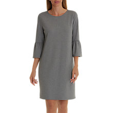 Buy Betty & Co. Bell Sleeve Dress, Middle Silver Melange Online at johnlewis.com