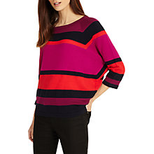 Buy Phase Eight Sabra Striped Jumper, Multi Online at johnlewis.com
