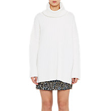 Buy French Connection Riva Rib Knit High Neck Jumper Online at johnlewis.com