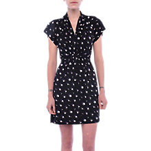 Buy French Connection V-Neck Jersey Dress Online at johnlewis.com