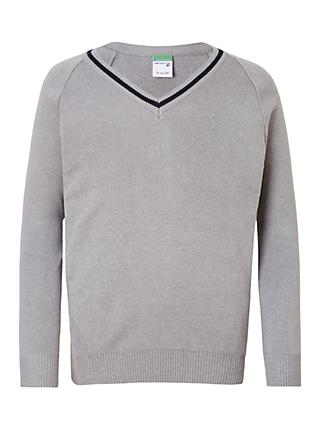 Chigwell School Boys' Pullover, Grey