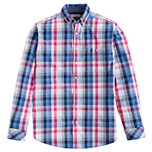 Buy Joules Hewney Check Classic Fit Shirt, Multi Online at johnlewis.com